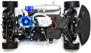 Chassis of Vision Pro from GS Racing