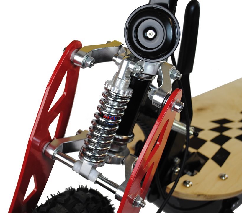 Front and Rear Suspension