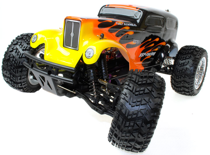 Hsp New Models Hot Rod And Beetle Monster Rc Trucks
