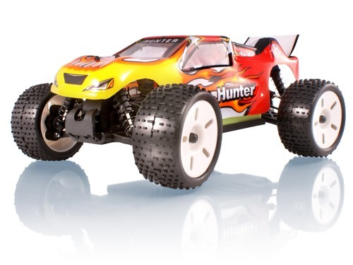 Hunter Truggy Electric Radio Controlled Cars   Ghz