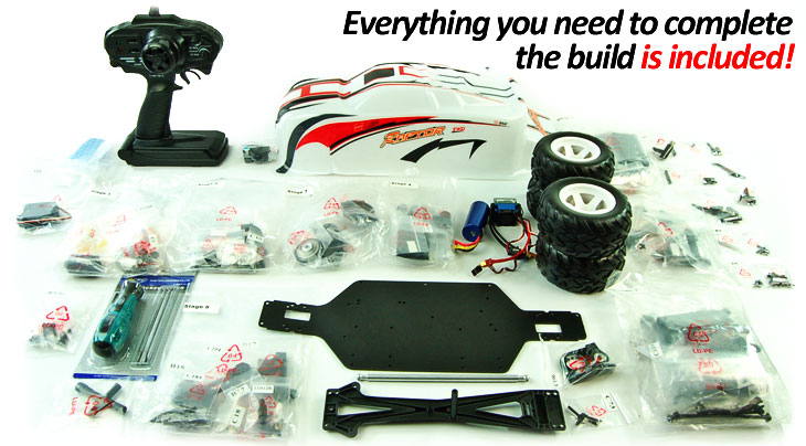 Raptor Self Build RC Truggy Kit