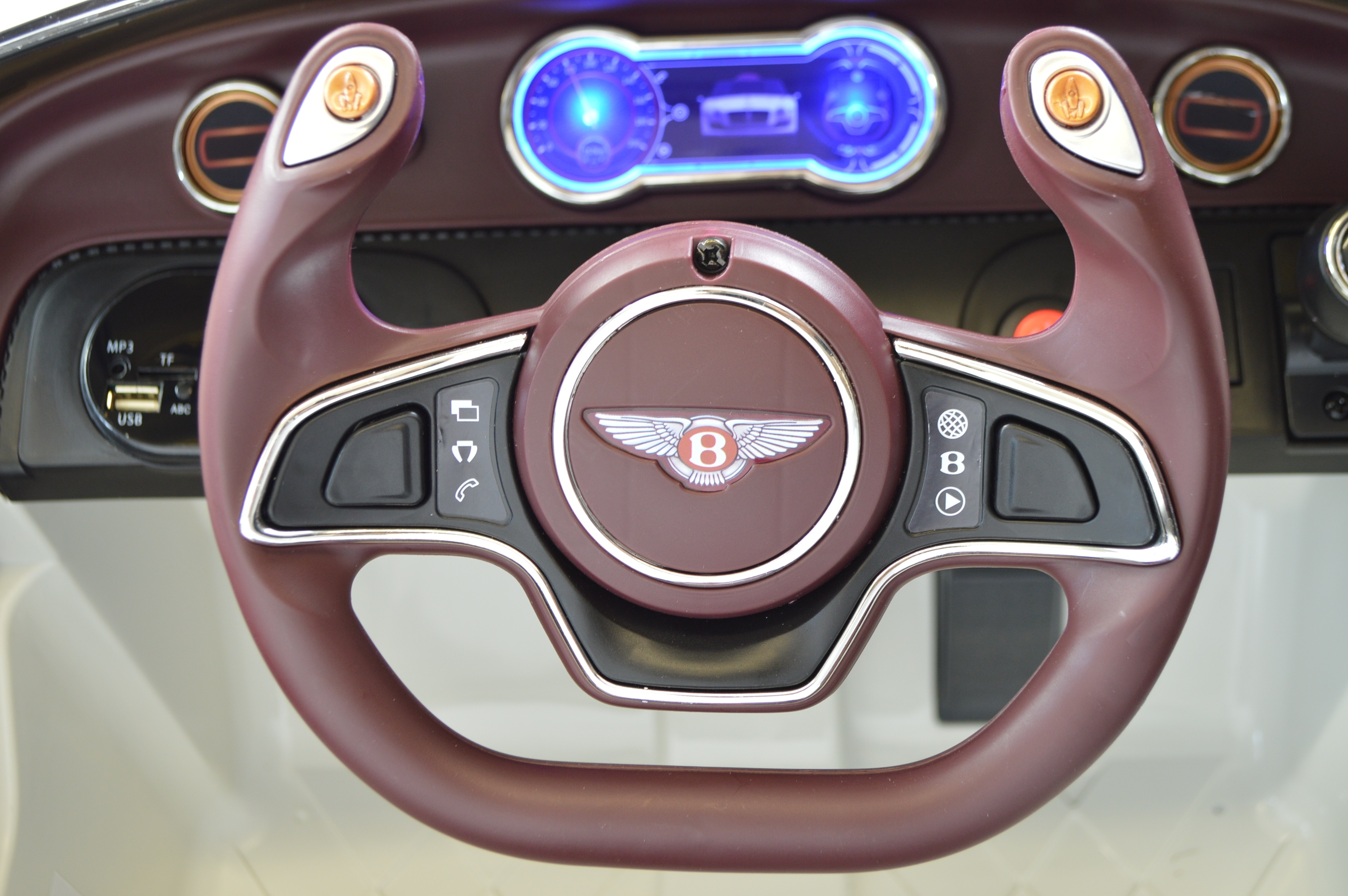 Replica steering wheel