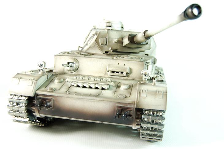 Taigen Hand Painted RC Tanks - Metal Upgrade - Panzer IV