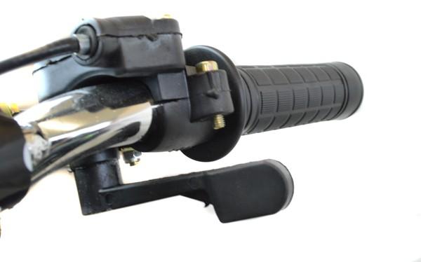 Thumb Throttle and Throttle Speed Adjustment