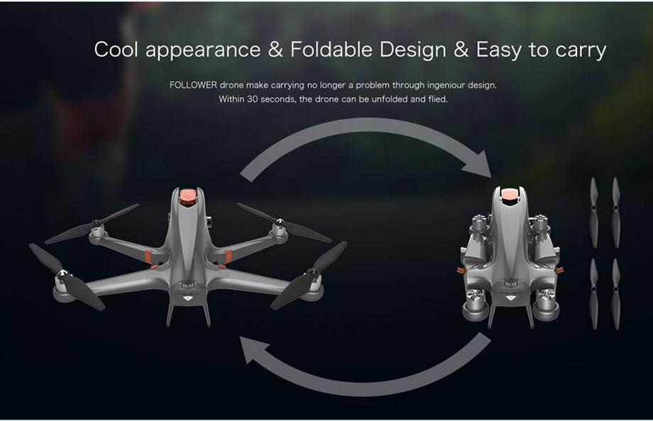 Ceewa RC Drone Folding Arms