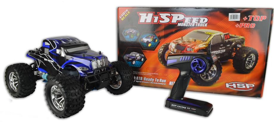 Big Rig Nitro Remote Control Monster Truck