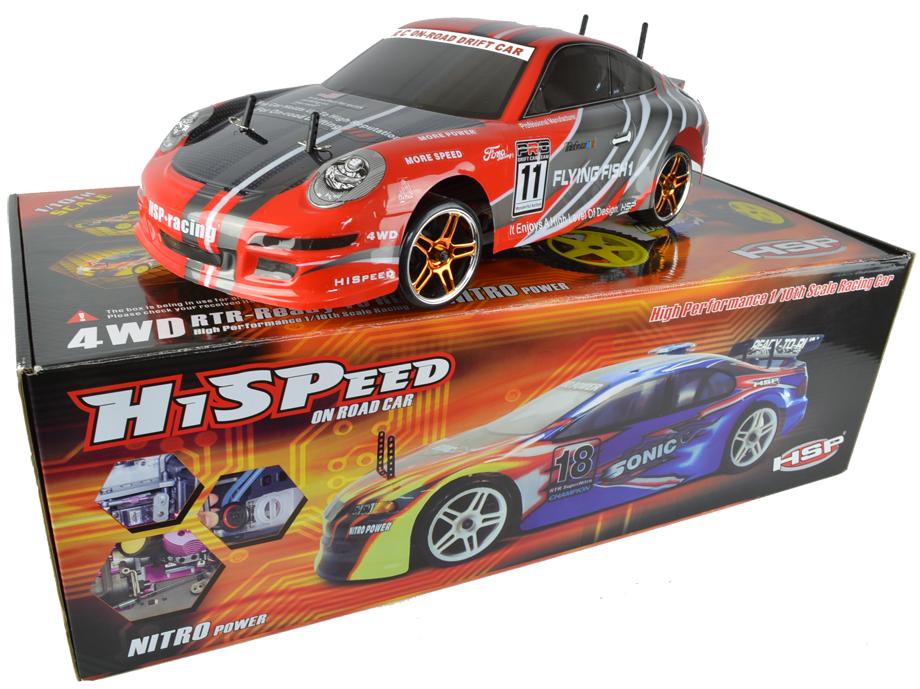 Flying Fish Porsche Electric Drift Rc Car Nitrotek