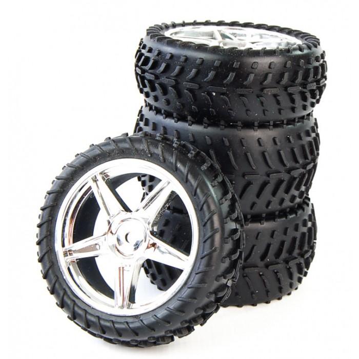 Anti-skid tyres
